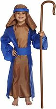 Fancy Dress Child Shepherd Shepherds Nativity Xmas Christmas Fit Ages 4-12