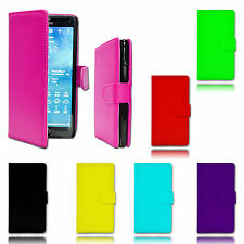 Magnet Wallet Flip Book Holder Leather Pu Case Cover For Samsung Galaxy S4