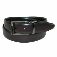 New Kenneth Cole Reaction Mens Reversible Belt with Gun Metal Buckle