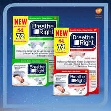 Breathe Right® EXTRA Nasal Strips, 44 Count (CLEAR OR TAN COLOR AVAILABLE)