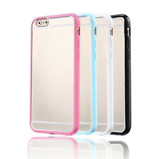 For iPhone 6 /6s / Plus Ultra Thin Clear Crystal Rubber TPU Hard Case Cover Skin