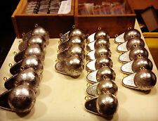 Finned Downrigger Balls / cannonball cannon ball salmon ocean lake trout weights