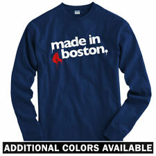 Made in Boston V2 Long Sleeve T-shirt LS - Red Sox Dorchester Irish Men / Youth