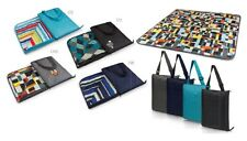 Picnic Time VISTA OUTDOOR BLANKET Washable outdoor zips into a carry tote