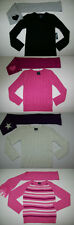 Girls Assorted Glitter Pullover Heavy Knit Sweater & Graphic Scarf Set XS L