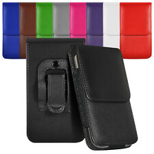 Vertical Belt Small Tab Pouch Case For HTC Desire C