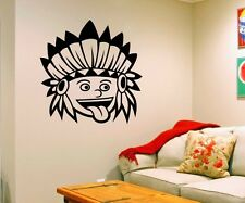 Wall Decal Indians Western India Funny Stickers Wall Stickers 5A043