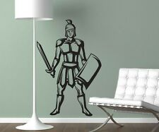 Wall Decal Roman Military Warrior Decal Sticker Wall Decoration Design 1m442
