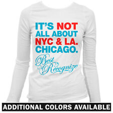 Best Recognize Chicago Women's Long Sleeve T-shirt LS - Chi-Town Windy City S-2X