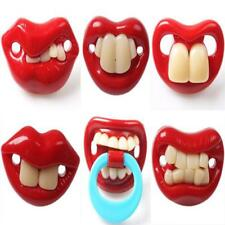 Funny Teeth Baby Boy Girl Pacifier Orthodontic Dummy Children Nipples Soother L