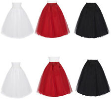 3 LAYER Short Mini Tulle Skirt UnderSkirt Slip Crinoline Petticoat Wedding Dress