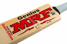 MRF Genius Grand Edition Top Grade JUNIOR English Willow Cricket Bat + AU Stock