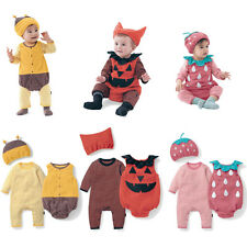 Baby Christmas Winter Clothes, Animal Bee, Strawberry Costume Party Set 0-18M