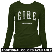 Eire Ireland Women's Long Sleeve T-shirt LS - Dublin Cork Irish St Patricks S-2X