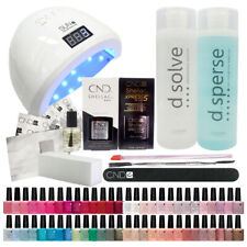 CND Shellac Starter Kit + UV Lamp ( Any ONE Colour Kit ) + All Essentials
