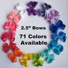 "WHOLESALE Lot 2.5"" Hair Boutique Bows, interchangeable headband Neon Animal Dots"