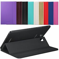 New BOOK Case Cover For Samsung Galaxy Tab S2 8.0 T710 +Tempered Glass Protector