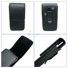 Compact Flip Magnet Vertical Leather Belt Clip Loop Holster Case Pouch Cover 4.7