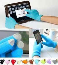 TOUCH SCREEN WINTER MAGIC UNISEX KIDS LADIES MENS GLOVES FOR iPHONE iPAD SAMSUNG