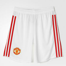 Official 2015/2016 Manchester United FC Junior Boys Home Football Kit Shorts