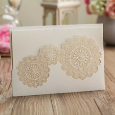 Personalized Floral Wedding Invitations Cards With Envelopes, Seals, Print