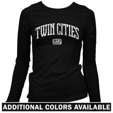Twin Cities Women's Long Sleeve T-shirt LS - Minneapolis St Paul Minnesota  S-2X