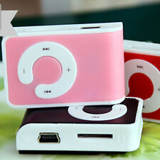 Mini Type Clip USB MP3 Music Media Player Support 1-8GB Micro SD TF Memory Card
