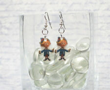 Hermey : Rudolph Red Nose Reindeer Earrings (SD) (FS) Dentist Christmas Hermie