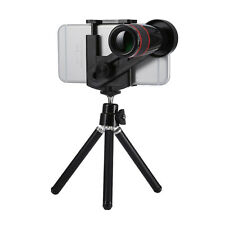 Universal 12x Zoom Optical Telescope Telephoto Camera Lens Kit for iPhone