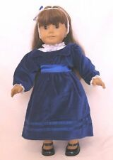 """Doll Clothes Fit AG 18"""" Dress Samantha Blue Victorian Fits American Girl Dolls"""