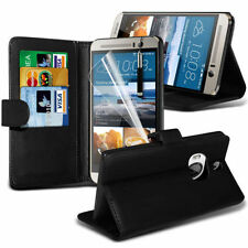 Leather Stand Wallet Case Cover For HTC One M9 Plus