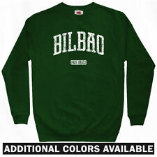 Bilbao Spain Sweatshirt Crewneck - Basque Country Athletic Espana - Men S-3XL
