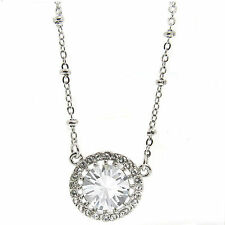 Angelic Clear Crystal Pendant Necklace made with SWAROVSKI® Crystals