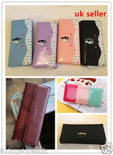 Women Coin PU Leather Multi-card Bit Long Paragraph Purse Clutch Wallet Bag