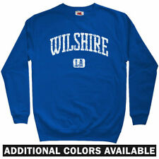 Wilshire LA Los Angeles Sweatshirt Crewneck - California CA Blvd Rap - Men S-3XL