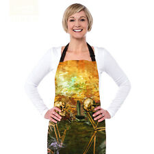 skull Men Womens Cute Cooking Kitchen Restaurant Bib Apron Dress Aprons Gift