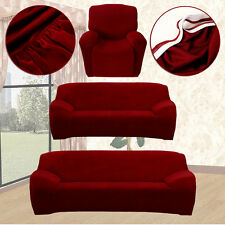 EASY Fit Stretch Sofa Couch Cover 1 2 3Seater Recliner Loveseat Lounge Protector