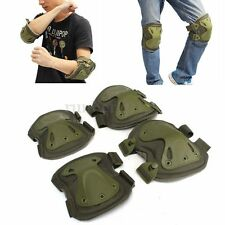 Adjustable Knee Elbow Pad Tactical Airsoft Combat Protective Outdoor Sports New