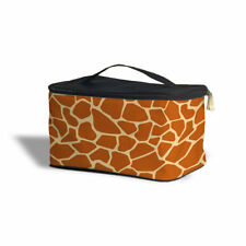 Giraffe Print Cosmetics Storage Case - Multi Purpose Makeup Bag
