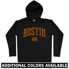 Austin 512 Hoodie - TX Texas SXSW City Limits Longhorns Lone Star - Men S-3XL