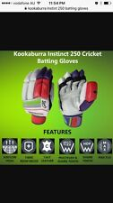 Kookaburra Instinct 250 RH/LH Batting Gloves + AU Stock + Free Ship + Free Inner