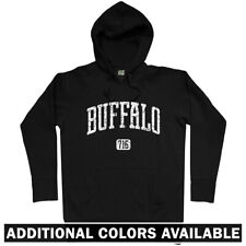 Buffalo 716 Hoodie - NY New York Bills BU SUNY Bulls Niagara Falls - Men S-3XL