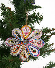 BNWT Fair Trade Recycled Paper Decorations - available in a number of designs!