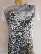 Emperor Eternity Chinese Immortal Tattoo T shirt ฺWhite M L XL