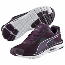 Women's Shoe PUMA FAAS 500 V4 PWRWARM Running Sneakers 188234-01 Plum *New*