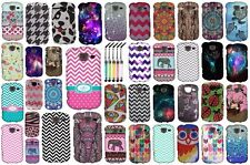 For Samsung Brightside U380 Designs Snap On Hard Cover Case + Crystal Stylus