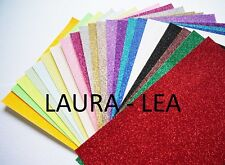Glitter Card A4 -  Quantity 3 sheets comes in 28 colours