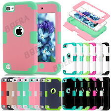 High Impact Rugged Shockproof Hard Combo Case Cover For iPod Touch 5 / Touch 6
