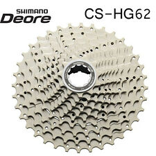 Shimano Deore CS-HG62 Cassette 11-32T 11-34T MTB Silver 10 Speed