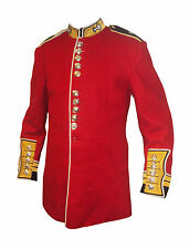 WELSH GUARDS WARRANT OFFICER TUNIC - RED - CEREMONIAL - USED CONDITION